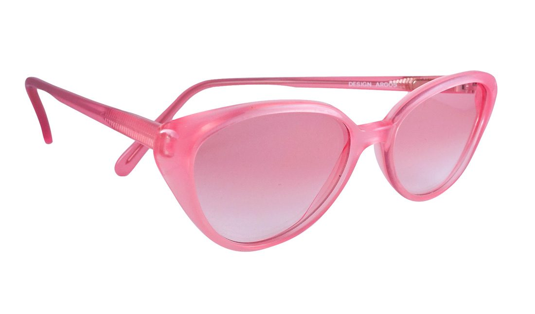 pink cat eye sunglasses, vintage sunglasses, vintage cat eye frames