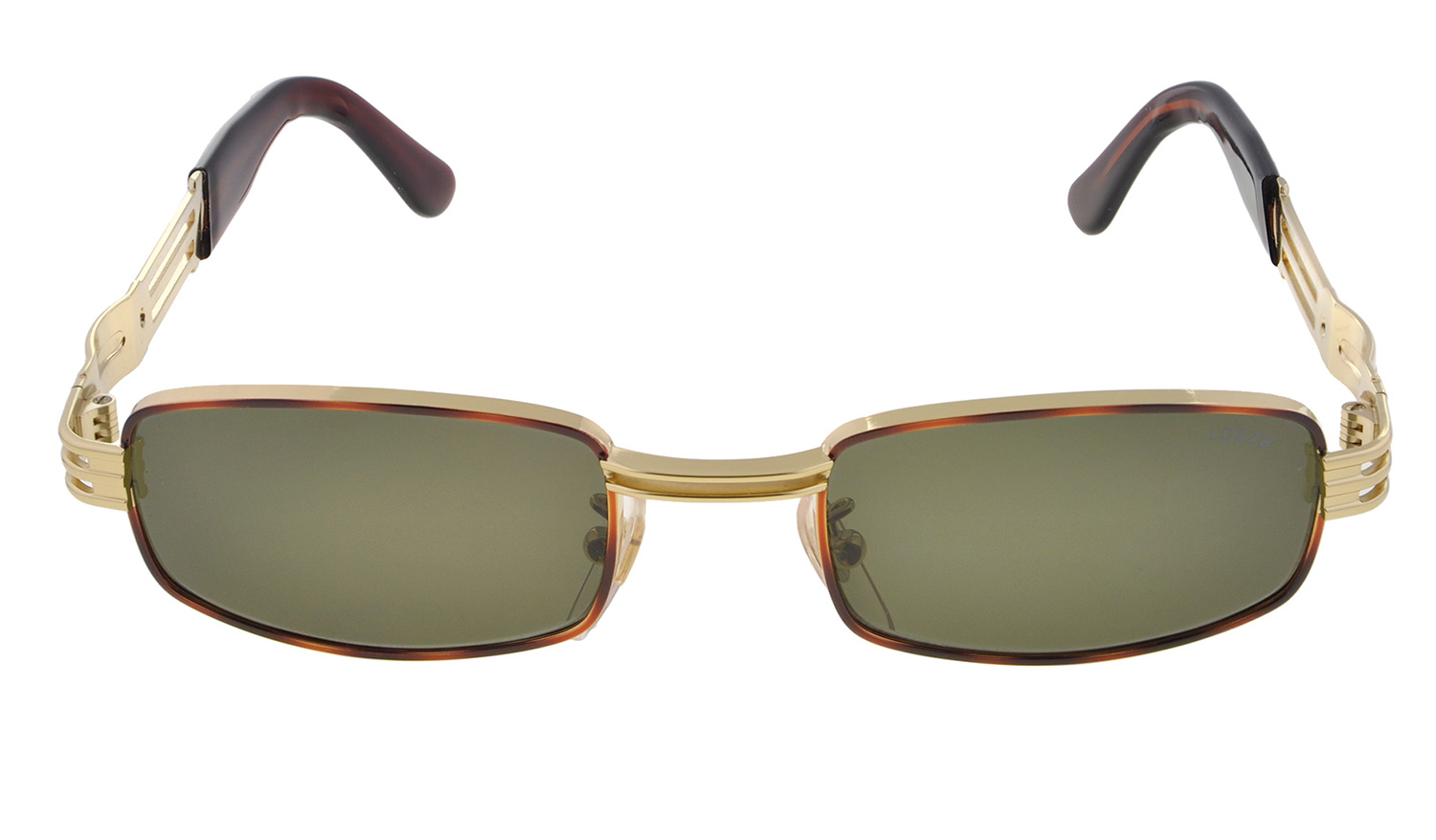 Lozza Vintage Sunglasses 80s Made In Italy Gold