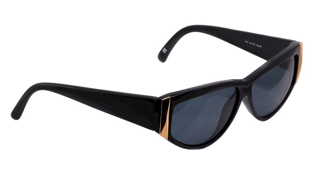 Vintage Versace sunglasses, made in Italy in the 1990s